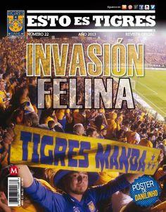 Adquiere tu revista de #ESTOESTIGRES en porta la INVASIÓN FELINA