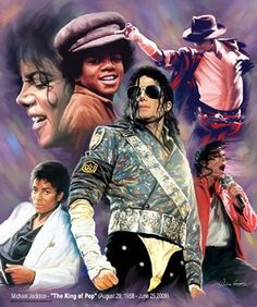 the king of pop | michael jackson the king of pop art print by wishum gregory