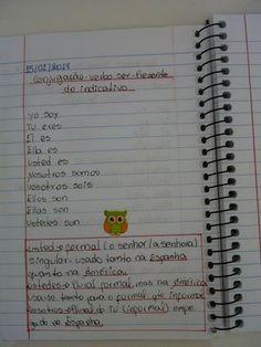 Caderno de Espanhol