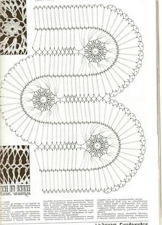 Hairpinlace - crochê de grampo - guimpy haken - horquilla