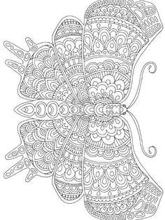 Butterfly Coloring Page, Flower Coloring Pages, Mandala Coloring Pages, Coloring Book Pages, Printable Coloring Pages, Detailed Coloring Pages, Free Adult Coloring Pages, Free Coloring Sheets, Coloring Pages Inspirational