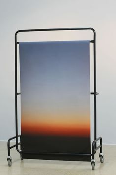 """ronulicny:  """"Sunset (Structure 3)"""", 2012 By: STEPHANIE SAADE…. **WHOA!!!…."""