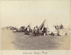 Geni - Photos in Photos from Anglo Boere Oorlog/Boer War (1899-1902) KROONSTAD Camp/Kamp Armed Conflict, African History, Military History, Old Pictures, Victorian Era, South Africa, Camping, Earth, Colour