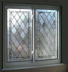 Bathroom window stained glass design 29 Ideas for 2019 Frosted Glass Window, Stained Glass Window Film, Stained Glass Door, Leaded Glass Windows, Stained Glass Designs, Stained Glass Panels, Stained Glass Patterns, Modern Stained Glass, Modern Glass
