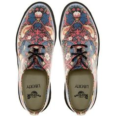 William Morris Strawberry Thief Doc Martens.  These shoes get attention.
