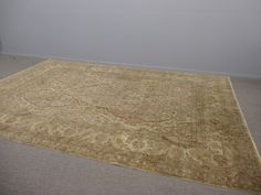 India Wool Hand Knotted Rug -