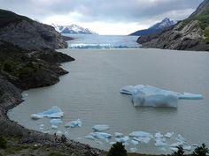 Glaciar Grey (frente oriental)