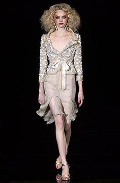 Valentino Spring 2004 Couture Fashion Show - Gemma Ward (IMG), Valentino Garavani