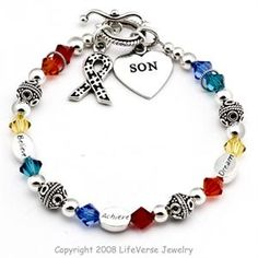 Autism Disease Bracelets Awareness Bracelet Jewelry Learning