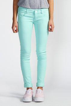 Dana Ankle Grazer Skinny Jeans £15 Jade