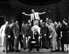 """cast in the finale """"Brotherhood of Men"""" from the show """"How To Succeed ..."""