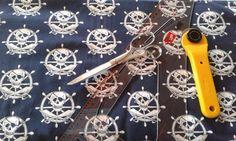 Kinderstoff - Jerseystoff Piraten von Naehspass auf Etsy