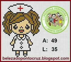Zz Mini Cross Stitch, Cross Stitch Cards, Cross Stitching, Plastic Canvas Crafts, Plastic Canvas Patterns, Hama Beads Patterns, Beading Patterns, Crochet Cross, Knitting Charts