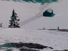 Näkymä Liedon Vanhalinnasta, (värit muokattu) helmikuu 2013