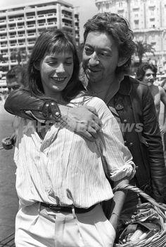 Jane Birkin and Serge Gainsbourg 1976