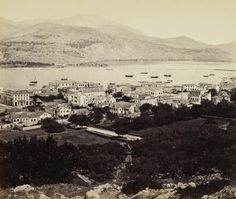 View of Argostoli, Cephalonia, Ionian Islands, Greece Jun Catholic Diocese, Chios, Greece Islands, Windsor Castle, See Images, Athens Greece, Old Photos, Paris Skyline, Istanbul