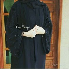 Abaya Style 690387817848964754 - Source by suhailafatima Burqa Fashion, Muslim Fashion, Skirt Fashion, Hijab Dress, Hijab Outfit, Burqa Designs, Modern Abaya, Hijab Stile, Modele Hijab