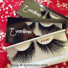 Good Afternoon, Beauties! #eyelashesoftheday is style #GLM01 for the extreme pop on the eyes.