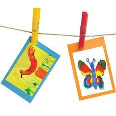 Conserver  les dessins d'enfants…  tout un art!