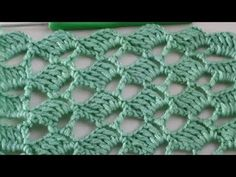 Easy Crochet Stitches, Crochet Square Patterns, Stitch Patterns, Stitch 2, Crochet Videos, Diy For Kids, Knitting, Crafts, Easy Youtube