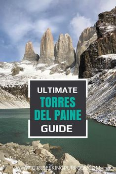 This guide will tell you everything you need to know about completing the O Circuit or the W trek in Torres Del Paine, Patagonia. Machu Picchu, Amazing Destinations, Travel Destinations, Travel Europe, Bolivia, Beautiful Places To Visit, Cool Places To Visit, Ecuador, Puerto Natales