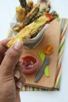 Frites de courgettes - passion culinaire 2