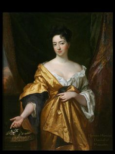 """""""Hortense Mancini Duchess of Mazarin"""" by Godfrey Kneller (1693) at the Museums Sheffield, Sheffield - From the curators' comments: """"Hortense Mancini was an intelligent and independent woman. She made her debut at the French court in 1657 and subsequently married the Marquis de La Meilleraye. Her husband was a jealous and increasingly eccentric man and Hortense fled France in 1668. She eventually arrived in England in male costume where she rekindled a previous affair with Charles II of England."""""""