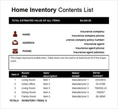 Inventory Sheet Format  WordstemplatesOrg    Template