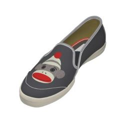 Sock Monkey Shoes.