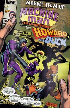 Howard The Duck Comic Books | ... Howard the Duck Come to OUR World! | Comics Should Be Good! @ Comic