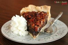 Pecan Kahlua Pie - sounds yummy!