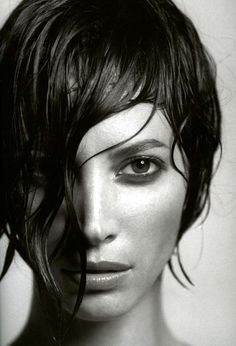 Christy Turlington a portrait picture by photographer James Houston. Related to: photos ,portrait ,Black & White ,water ,Christy Turlington Christy Turlington, Foto Portrait, Female Portrait, Portrait Photography, White Photography, Amazing Photography, Maybelline, Foto Fun, Linda Evangelista