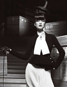 Du Juan Models Dior for Yin Chao in Numéro China April 2013 | Fashion Gone Rogue: The Latest in Editorials and Campaigns