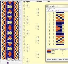 Diseño 24 tarjetas, 3 colores, repite dibujo cada 20 movimientos   // band52 ༺❁