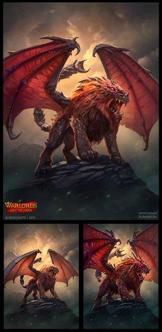 Warlords: Art of War - Manticore by DevBurmak on DeviantArt