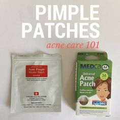 Pimple patches, or hydracolloid bandages sized specially for acne, are amazing for cystic acne.