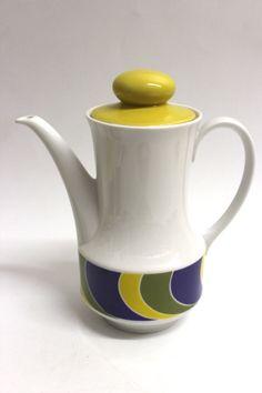 Porzellan Kaffeekanne der Marke Seltmann Weiden Serie Anja Guter gebrauchter Zustand Abmessung ca. H=23,5 cm D=11,8 cm