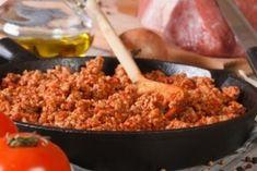 Faire une vraie sauce bolognaise en moins de 15 minutes © Shutterstock