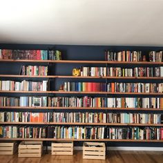 33 Mirror Decoration Ideas to Brighten Your Home - The Trending House Floor To Ceiling Bookshelves, Library Shelves, Bookshelf Design, Bookshelves Built In, Custom Bookshelves, Floating Bookshelves, Library Wall, Bookcase Wall, Homemade Bookshelves