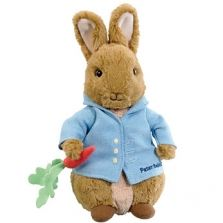 Cuddly Peter Rabbit Soft Toy 22cm Now £12.99
