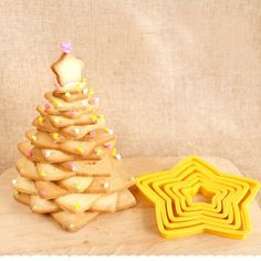 Christmas Tree Shape Cookie Maker Stars Mold Biscuit Cutter Multilayer Cake   #ChristmasTreeChina