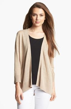 Amber Sun Open Front Cardigan available at #Nordstrom