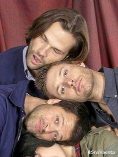 J2M - Jared, Jensen & Misha - Supernatural Convention photo ops