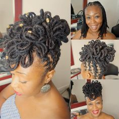 ust doing my thing. ust doing my thing. Dreadlock Wedding Hairstyles, Dreadlock Hairstyles, Twist Hairstyles, Cool Hairstyles, Dreads Styles For Women, Short Dreadlocks Styles, Dreadlock Styles, Natural Hair Salons, Natural Hair Styles