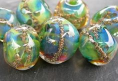 Brass Frit Golden Bubbles Information and Sharing - Lampwork Etc.
