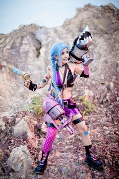 League of Legends: Jinx Joke by SilentCircus90.deviantart.com on @deviantART