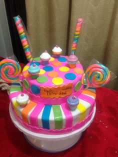 Torta candyland