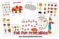 Tot Trays-10 Fall Trays