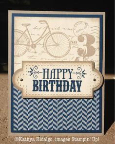 Happy Birthday by Wonder Chica - Cards and Paper Crafts at Splitcoaststampers