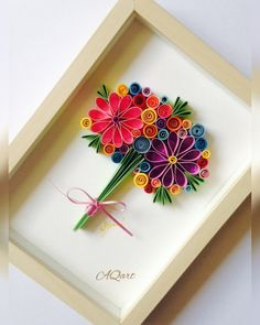 Excited to share this item from my shop: Quilled bouquet Spring Beauty -Handmade bouquet -Quilling Art-Paper Art bouquet - Unique gift- Wedding gift- Gift for her/mom- Flower art Neli Quilling, Quilled Roses, Paper Quilling Flowers, Paper Quilling Cards, Quilling Work, Paper Quilling Patterns, Quilled Paper Art, Quilling Paper Craft, Paper Crafting